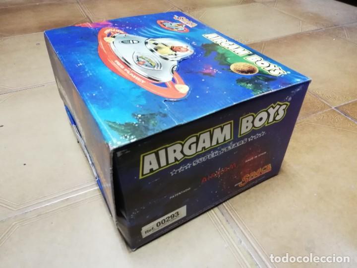 Airgam Boys: AIRGAM BOYS ESPACIO, SPACE, NAVE PLATILLO VOLANTE, REF. 00293, CAJA VACIA. - Foto 3 - 282458993