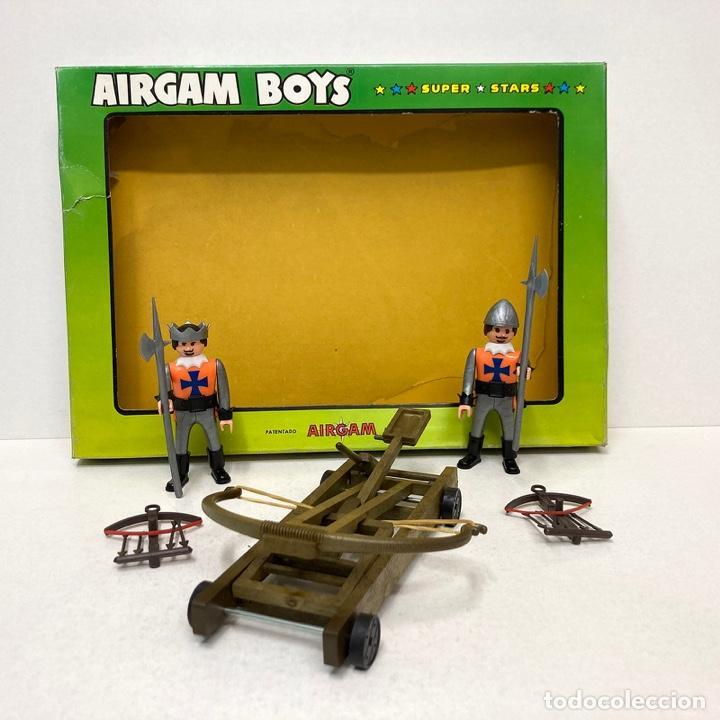 Airgam Boys: AIRGAM Boys Ref 12211 Cruzados. Nuevo. Vintage. Año 1.978. A estrenar. MUY RARO. - Foto 2 - 286701643