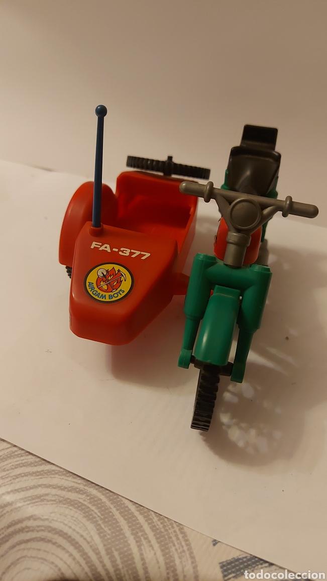 AIRGAM BOYS MOTO CON SIDECAR BOMBEROS (Juguetes - Figuras de Acción - Airgam Boys)