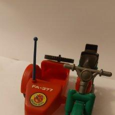 Airgam Boys: AIRGAM BOYS MOTO CON SIDECAR BOMBEROS. Lote 287376523