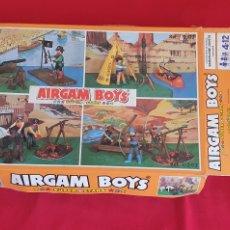 Airgam Boys: CAJA VACIA AIRGAM BOYS SUPER STAR REF 02202.TAL CUAL COMO SE VE EN FOTOS. Lote 288350208