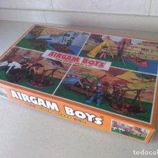 Airgam Boys: AIRGAM BOYS CAJA REF 11202 ARQUEROS MEDIEVALES ROBIN HOOD. Lote 289469378