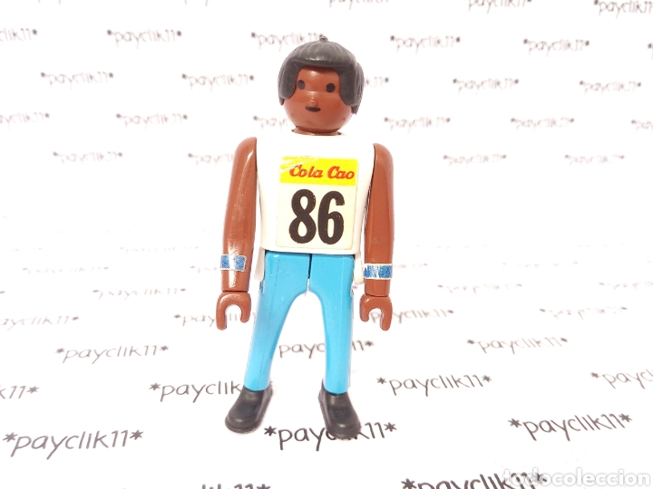 AIRGAMBOYS COLACAO OLIMPIADAS JUEGOS OLIMPICOS LOS ANGELES 1984 NEGRO AIRGAM BOYS MINI COLA CAO 86 (Juguetes - Figuras de Acción - Airgam Boys)