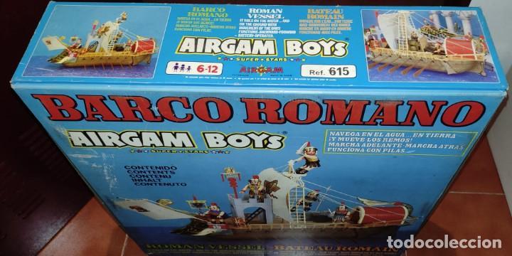 AIRGAM BOYS - BARCO ROMANO - ¡NUEVO! - MÁS DE 35 AÑOS DE ANTIGÜEDAD!! VER VÍDEO. SE ACEPTAN OFERTAS! (Juguetes - Figuras de Acción - Airgam Boys)