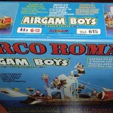 Airgam Boys: AIRGAM BOYS - BARCO ROMANO - ¡¡¡NUEVO!!! - REF. 615 - MÁS DE 35 AÑOS DE ANTIGÜEDAD!!. Lote 289622288