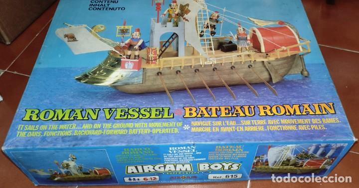 Airgam Boys: AIRGAM BOYS - BARCO ROMANO - ¡NUEVO! - Más de 35 años de antigüedad!! VER VÍDEO. Se aceptan Ofertas! - Foto 9 - 289622288