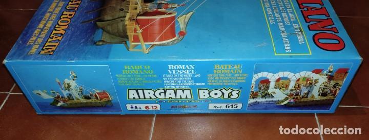 Airgam Boys: AIRGAM BOYS - BARCO ROMANO - ¡NUEVO! - Más de 35 años de antigüedad!! VER VÍDEO. Se aceptan Ofertas! - Foto 11 - 289622288