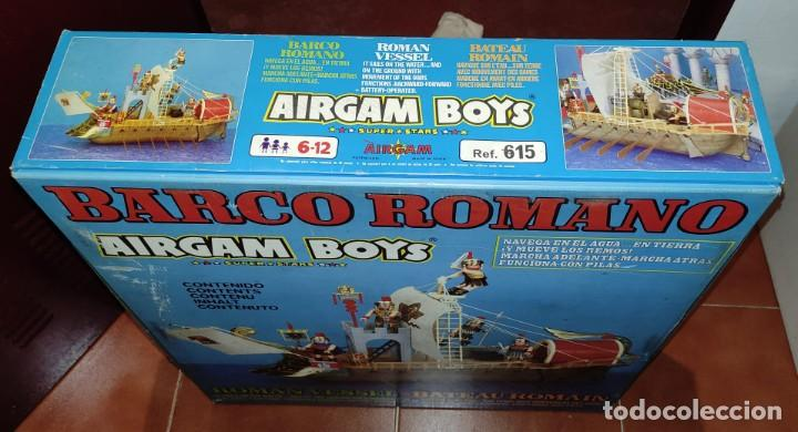 Airgam Boys: AIRGAM BOYS - BARCO ROMANO - ¡NUEVO! - Más de 35 años de antigüedad!! VER VÍDEO. Se aceptan Ofertas! - Foto 12 - 289622288