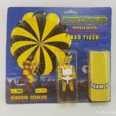 Airgam Boys: AIRGAM SUPERDIABOLICS BAD TIGER PARACAIDISTA MINT MISB. Lote 290606653