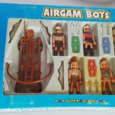 Airgam Boys: AIRGAM BOYS ROMANOS Y CATAPULTA, EN CAJA. CC. Lote 294123223