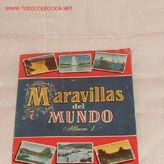 Coleccionismo Álbum: ALBUM MARAVILLAS DEL MUNDO. AÑOS 50. Lote 15913949