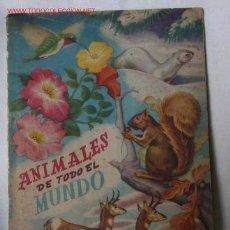 Coleccionismo Álbum: ALBUM ANIMALES DE TODO EL MUNDO. Lote 26870137