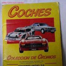 Coleccionismo Álbum: ALBUM DE COCHES.. Lote 26290866