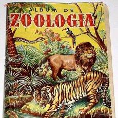 Coleccionismo Álbum: ANTIGUO ALBUM DE CROMOS ZOOLOGIA. Lote 27301841