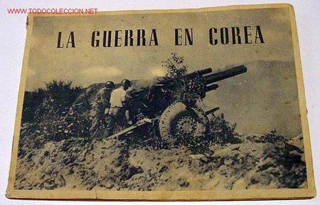 ANTIGUO ALBUM DE CROMOS LA GUERRA DE COREA . COMPLETO . 1950 (Coleccionismo - Cromos y Álbumes - Álbumes Completos)