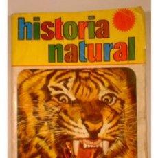Coleccionismo Álbum: ALBUM DE CROMOS - HISTORIA NATURAL - 508 CROMOS, EDITORIAL BRUGUERA 1967. COMPLETO. Lote 27462601
