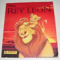 Coleccionismo Álbum: ANTIGUO ALBUM DE CROMOS EL REY LEON - PANINI - COMPLETO - DE CONSERVACION. Lote 8470517