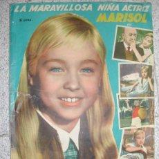 Coleccionismo Álbum: MARISOL. UN RAYO DE LUZ. FHER 1960 COMPLETO. Lote 27060816