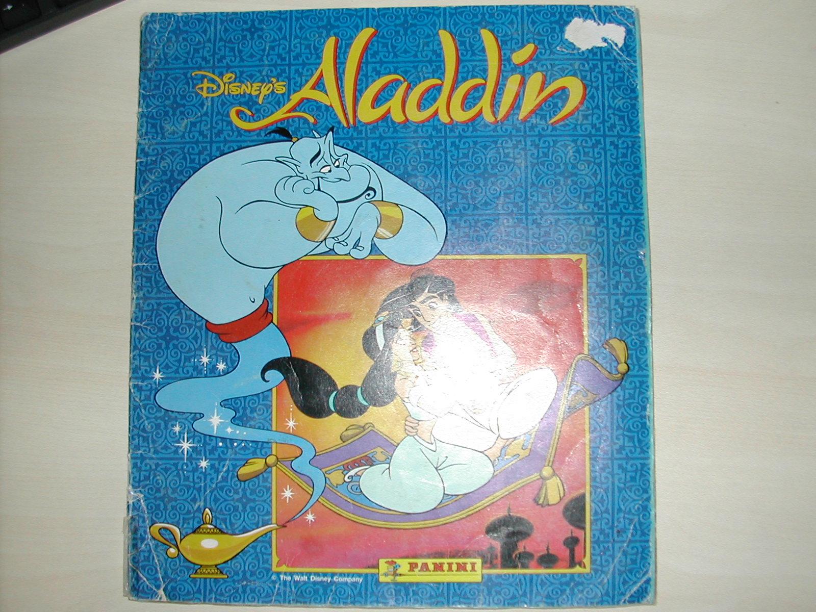 ALADDIN. PANINI WALT DISNEY. COMPLETO (Coleccionismo - Cromos y Álbumes - Álbumes Completos)