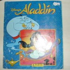 Coleccionismo Álbum: ALADDIN. PANINI WALT DISNEY. COMPLETO. Lote 27662047