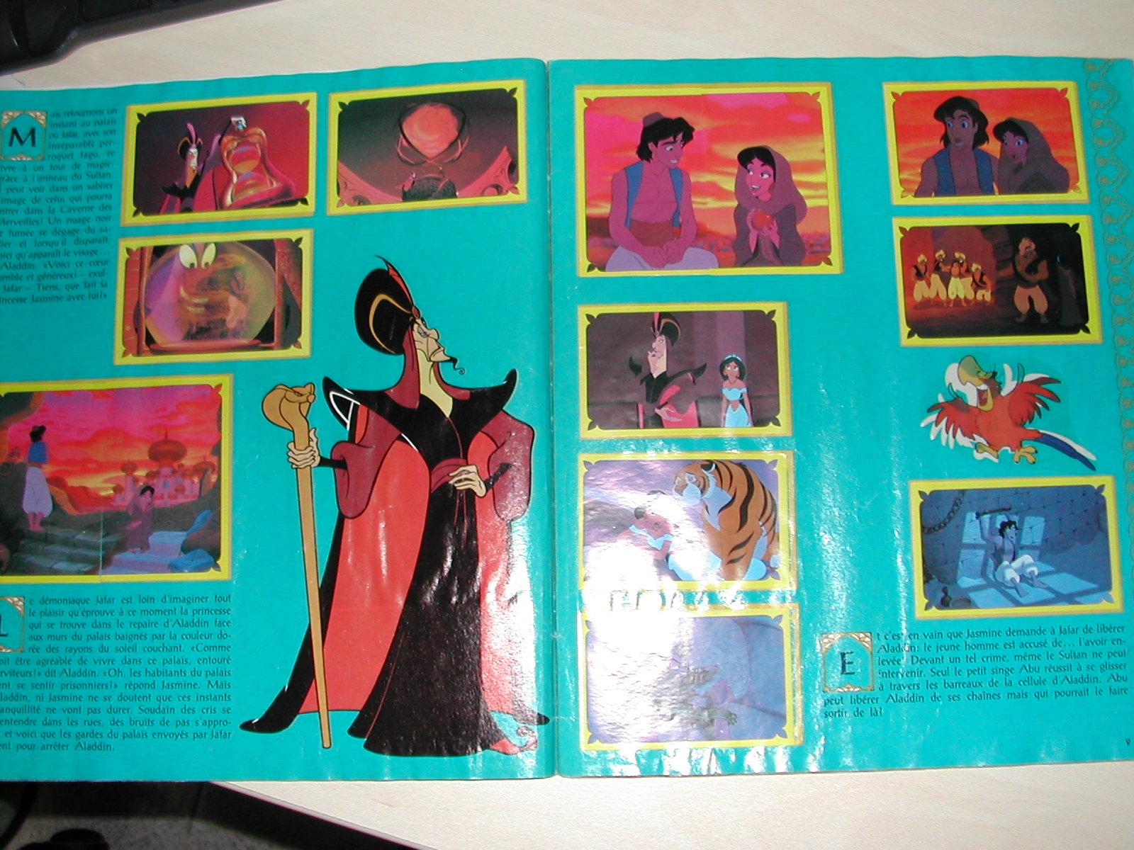 Coleccionismo Álbum: ALADDIN. PANINI WALT DISNEY. COMPLETO - Foto 2 - 27662047