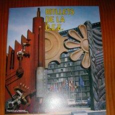 Coleccionismo Álbum: BITLLETS DE LA C.E.E. CATALAN. Lote 27185593