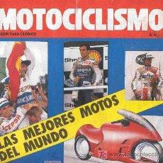 Coleccionismo Álbum: ALBUM DE CROMOS TOTALMENTE COMPLETO MOTOCICLISMO . Lote 23761879