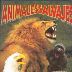 Coleccionismo Álbum: ALBUM DE CROMOS TOTALMENTE COMPLETO ANIMALES SALVAJES . Lote 20329728