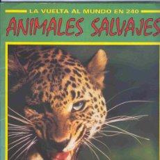 Coleccionismo Álbum: ALBUM DE CROMOS TOTALMENTE COMPLETO ANIMALES SALVAJES . Lote 26855949