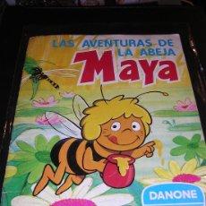 Coleccionismo Álbum: LAS AVENTURAS DE LA ABEJA MAYA, DANONE , COMPLETO. Lote 8351168