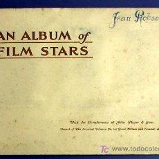 Coleccionismo Álbum: ÁLBUM CON ESTRELLAS DE CINE. PRIMERA SERIE. COLECCIÓN DE 50 CROMOS. EDITADO POR JOHN PLAYER, 1934.. Lote 19338544