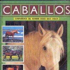 Coleccionismo Álbum: ALBUM DE CROMOS TOTALMENTE COMPLETO CABALLOS . Lote 22669355