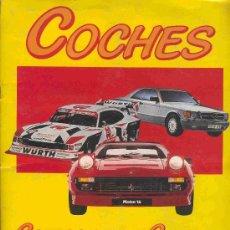 Coleccionismo Álbum: ALBUM DE CROMOS TOTALMENTE COMPLETO COCHES. Lote 22669905