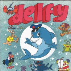 Coleccionismo Álbum: ALBUM DE CROMOS TOTALMENTE COMPLETO DELFY. Lote 22725868