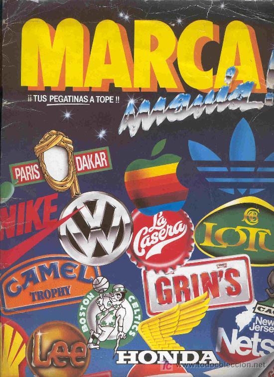 ALBUM DE CROMOS TOTALMENTE COMPLETO MARCAMANIA (Coleccionismo - Cromos y Álbumes - Álbumes Completos)
