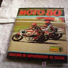 Coleccionismo Álbum: MOTO 80 . Lote 27474493