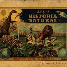 Coleccionismo Álbum: HISTORIA NATURAL JUNCOSA. Lote 7199559