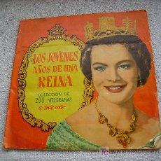 Coleccionismo Álbum: LOS JOVENES AÑOS DE LA REINA . Lote 26843907