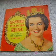 Coleccionismo Álbum: LOS JOVENES AÑOS DE LA REINA . Lote 26843862
