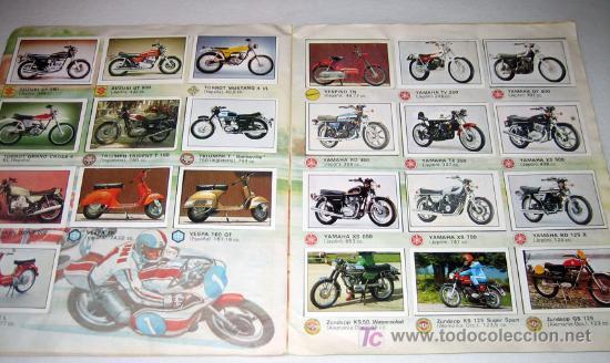 Coleccionismo Álbum: ANTIGUO ALBUM DE CROMOS DE MOTO 80 - COMPLETO - ALBUM ESTE - COLECCION DE SUPERCROMOS DE MOTOS - BUE - Foto 2 - 27397039