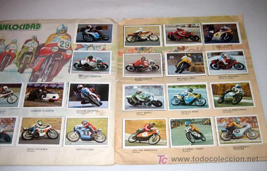Coleccionismo Álbum: ANTIGUO ALBUM DE CROMOS DE MOTO 80 - COMPLETO - ALBUM ESTE - COLECCION DE SUPERCROMOS DE MOTOS - BUE - Foto 3 - 27397039
