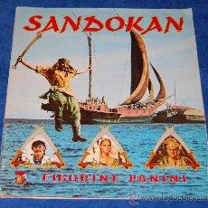 Coleccionismo Álbum: SANDOKAN - PANINI ¡COMPLETO!. Lote 26043134