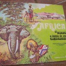 Coleccionismo Álbum: ALBUM DE CROMOS COMPLETO * AFRICA EL MUNDO A TRAVES DE SUS CONTINENTES * RAM. Lote 16400190