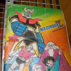 Coleccionismo Álbum: ALBUM COMPLETO MAZINGER Z . Lote 19931821