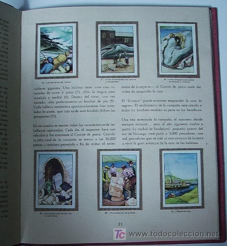 Coleccionismo Álbum: LAS MARAVILLAS DEL MUNDO. (Nestle) VOL. 1/ ALBUM COMPLETO - Foto 2 - 9962411