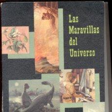 Coleccionismo Álbum: LAS MARAVILLAS DEL UNIVERSO NESTLE COMPLETO. Lote 8833849