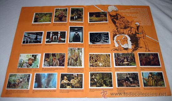 Coleccionismo Álbum: ANTIGUO ALBUM DE CROMOS EL RETORNO DEL JEDI - LA GUERRA DE LAS GALAXIAS - COMPLETO Y EN MUY BUEN EST - Foto 2 - 55155253