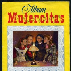 Coleccionismo Álbum: ALBUM MUJERCITAS, COMPLETO, 167 CROMOS, , EDICIONES CLIPER. Lote 23399481