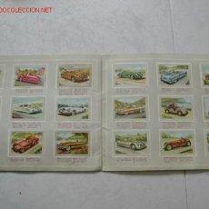 Coleccionismo Álbum: ALBUM DE CORMOS COMPLETO AÑOS 50. AUTOMOVILES. COCHES. Lote 26873058