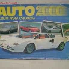 Coleccionismo Álbum: AUTO 2000. Lote 26755054